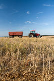 Agriculture - tractor Royalty Free Stock Photos