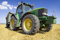 Agriculture - Tractor Royalty Free Stock Photography