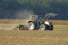 Agriculture tractor Royalty Free Stock Image