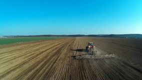 Agriculture stock video footage