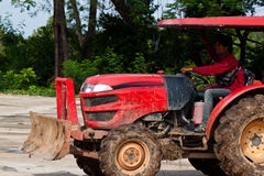 The agriculture tractor Royalty Free Stock Images