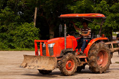 The agriculture tractor Stock Images