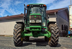 Agriculture tractor vehicle Stock Image