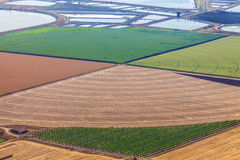 Agriculture valley Stock Image