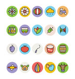 Agriculture Vector Icons 4 Royalty Free Stock Images