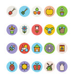 Agriculture Vector Icons 1 Stock Image