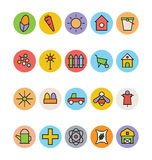 Agriculture Vector Icons 2 Royalty Free Stock Photos