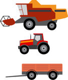 Agriculture vehicles Stock Photos