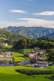 Agriculture village in Takachiho, Miyazaki, Kyushu. Royalty Free Stock Images