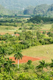 Agriculture at the Vinales Valley in Cuba Stock Photo