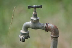 Agriculture water tap Stock Photography