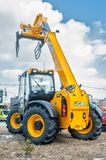 Agriculture wheel loader. Tyumen. Russia Stock Image