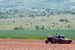 Agriculture workers Royalty Free Stock Photos