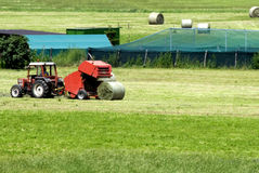 Agriculture works stock photography