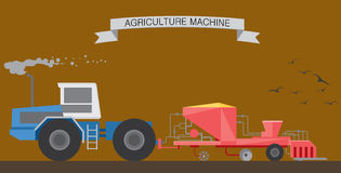 Agriculture works Stock Images