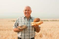 agriculturist успешный стоковая фотография