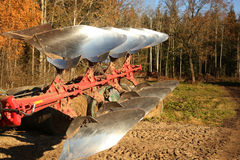 Agricuture - metal plow Royalty Free Stock Images