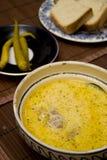 Agrie la sopa Imagen de archivo