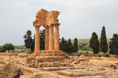 Agrigent-Tempel Lizenzfreies Stockbild