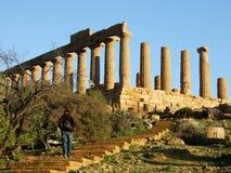 Agrigente - Tempio di Giunone Image libre de droits