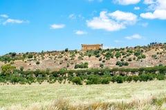 Agrigento Świątynny dolinny Włochy Sicily Zdjęcia Royalty Free