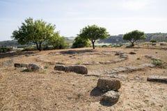 Agrigento - Archeological miejsce Zdjęcia Royalty Free