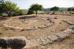 Agrigento - Archeological miejsce Fotografia Stock