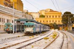 Agrigento Centrala stacja kolejowa Obraz Royalty Free