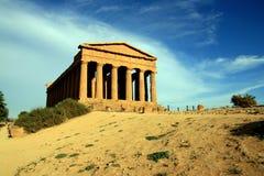 agrigento concordia grecka Italy świątynia Obraz Stock