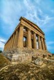 agrigento dei sławnego greckiego heracles dziedzictwa wyspy Italy resztek Sicily miejsca świątynny templi unesco Valle świat Vall Fotografia Royalty Free