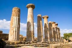 agrigento heracles temple Obraz Stock