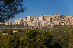 Agrigento city Royalty Free Stock Image