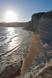Agrigento - Scala dei Turchi Royalty Free Stock Photos