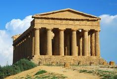 Agrigento in Sicilië Stock Foto's
