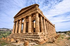 Agrigento, Sicily Royalty Free Stock Photography