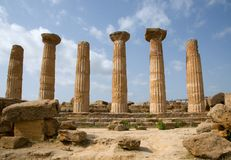 Agrigento,Sicily, Italy Royalty Free Stock Photo
