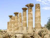 Agrigento in Sicily royalty free stock image