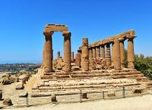 Agrigento-Sicily Stock Photo