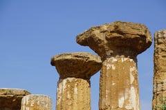 Agrigento, Sicily, Włochy, dolina świątynie Zdjęcie Royalty Free