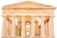 Agrigento, Sicily, Włochy Sławny Valle dei Templi Zdjęcia Stock