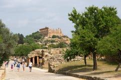 Agrigento, Sicily, Włochy Zdjęcie Stock