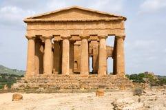 Agrigento, Sicily, Włochy Zdjęcia Royalty Free