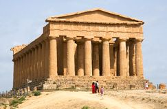 Agrigento, Sicily, Włochy Obrazy Stock