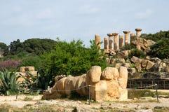 Agrigento, Sicily, Włochy Obraz Royalty Free