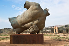 agrigento statua terenu statua Fotografia Stock