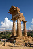 Agrigento - The Temple of Castor and Pollux, symbol of the city Royalty Free Stock Image