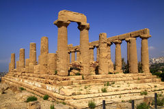 Agrigento Temple of Era  Royalty Free Stock Photos