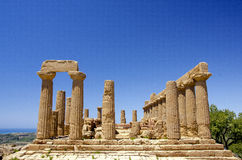 Temple of Hera Royalty Free Stock Photos