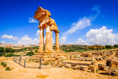 Agrigento Temple, Sicily, Italy Stock Image