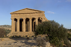 Agrigento temple in Sicily Stock Images